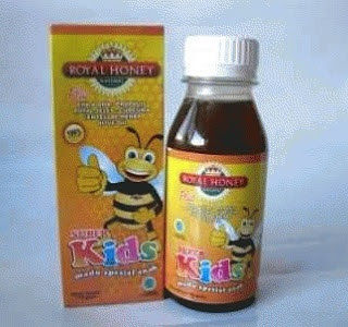 Jual madu Royal Honey Super Kids Asli Nasa