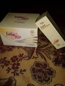 Facial Ceanser dan Collaskin Dring