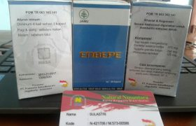 Jual Enbepe Natural Brain Power Nasa Asli Solusi Otak Cerdas