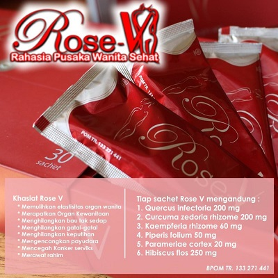 Rose V Nasa Herbal Untuk Organ Kewanitaan