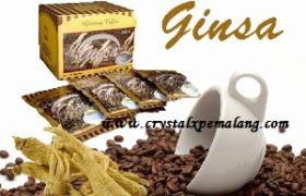 Kopi Ginseng Ginsa Herbal Nasa