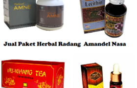 Paket Herbal Radang Amandel NASA