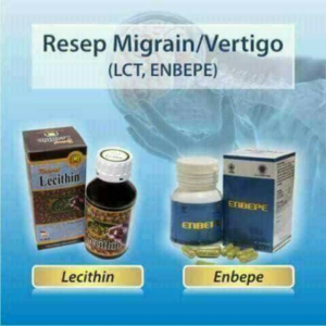 Paket Herbal Vertigo Migrain NASA